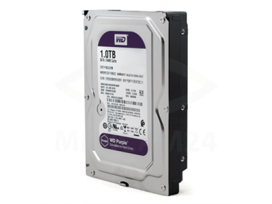 Жесткий диск Western Digital Purple 1 Тб - 2